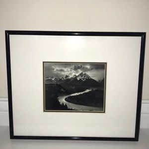 ANSEL ADAMS 'TETONS AND THE SNAKE RIVER' PICTURE